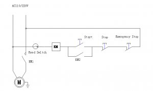 QE meat cutting machine Circuit diagram