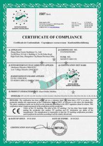 Newin Machine CE Certificate