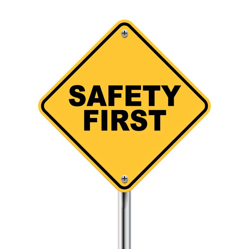 Meat grinder Safety first