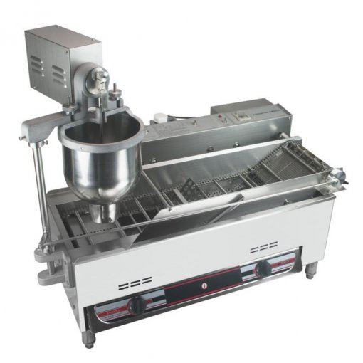 Gas Automatic Mini donut making machine / Fryer